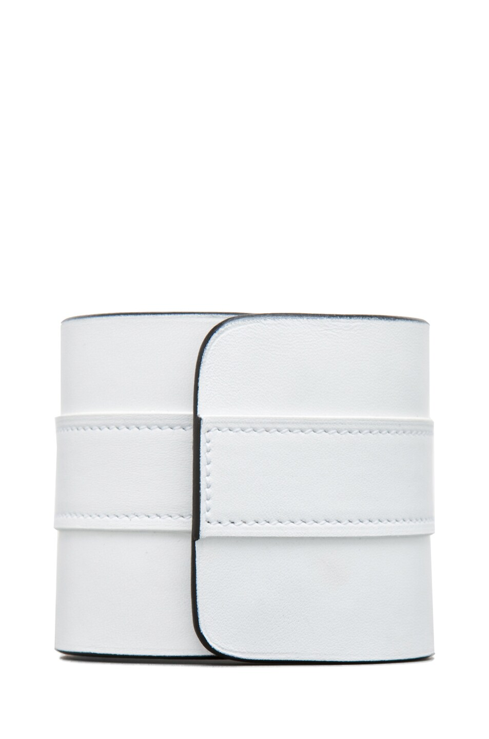 Image 3 of GIVENCHY Obsedia Large Cuff in White/Black