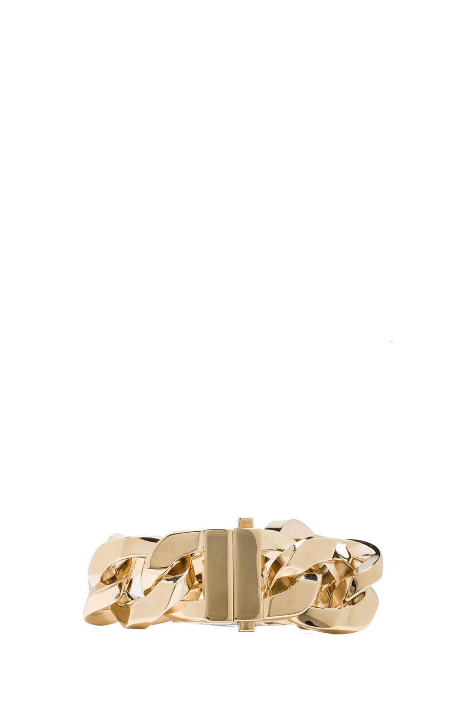 Image 3 of GIVENCHY Small Medallion Bracelet in Gold