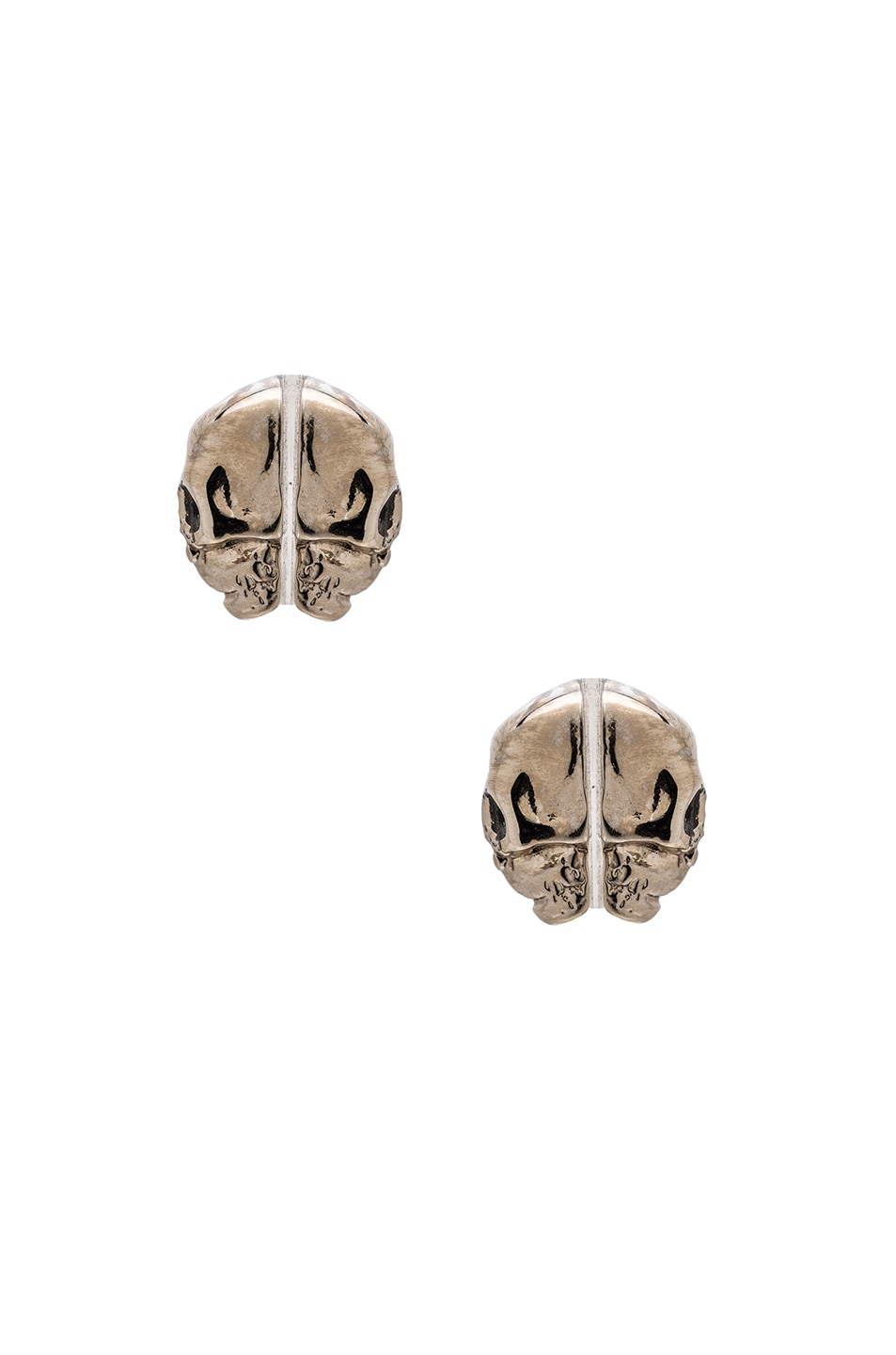 Image 2 of GIVENCHY Skulls Earrings in Metal