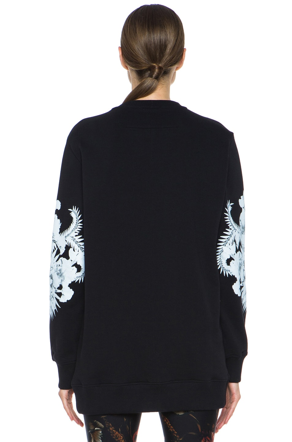 Image 4 of GIVENCHY Flag and Jaws Sweatshirt in Black