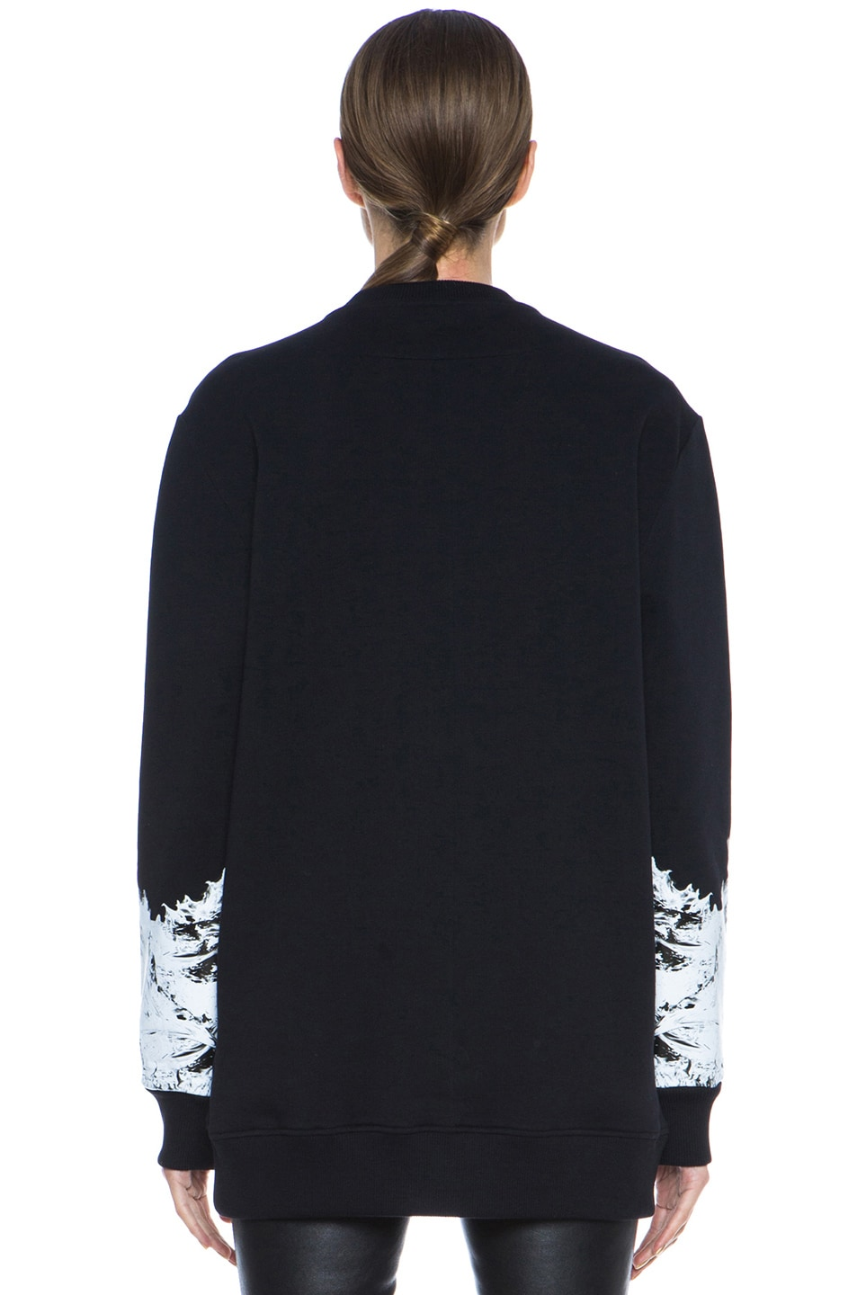 Image 4 of GIVENCHY Multiprint Sweatshirt in Black & White