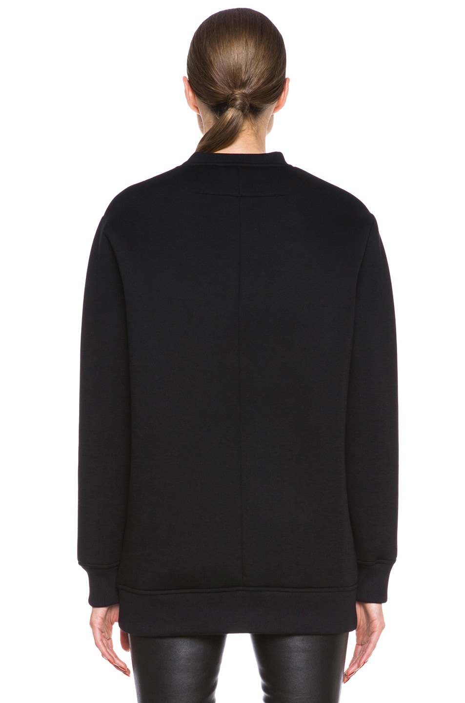 Image 4 of GIVENCHY Bambi Print Viscose Sweatshirt in Black