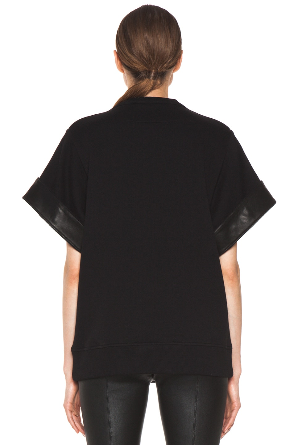 Image 4 of GIVENCHY Star Sweatshirt in Black