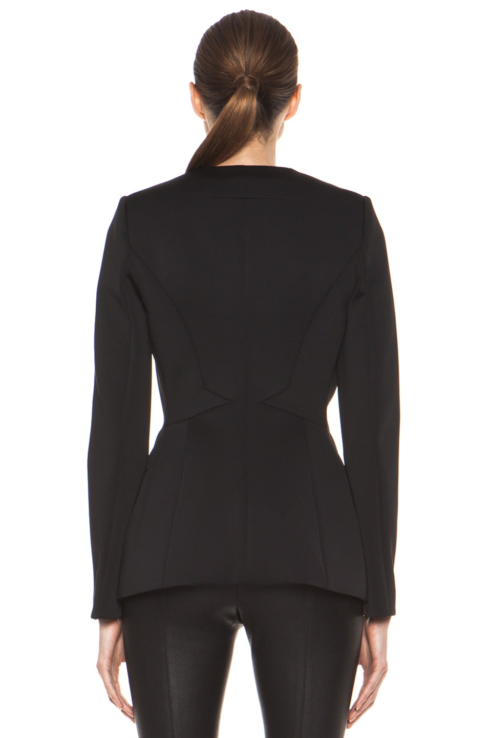 Image 5 of GIVENCHY Jersey Technique Blazer in Black