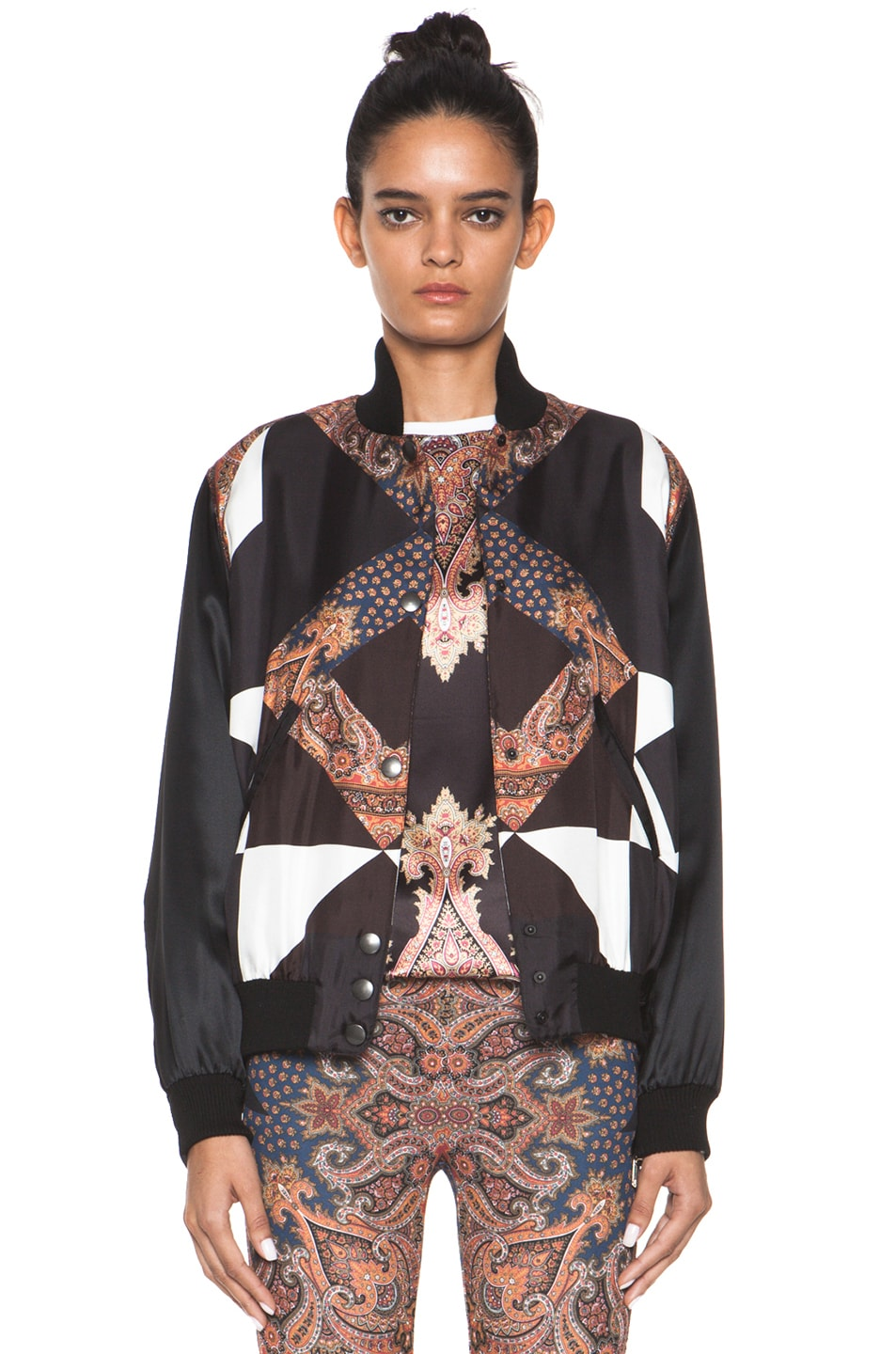 Image 1 of GIVENCHY Bomber Jacket in Multi