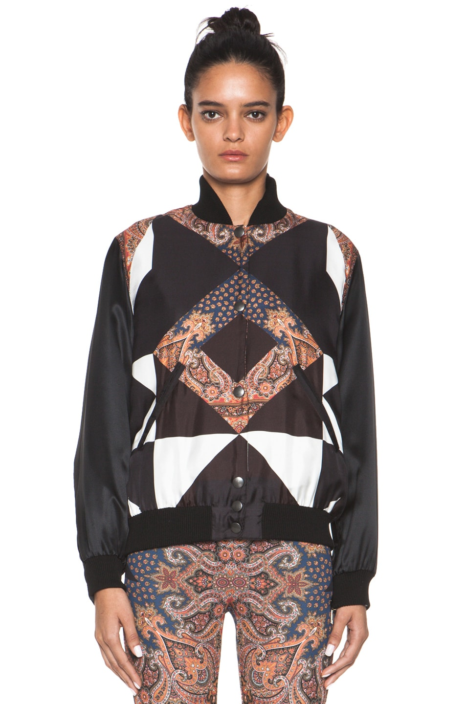Image 2 of GIVENCHY Bomber Jacket in Multi