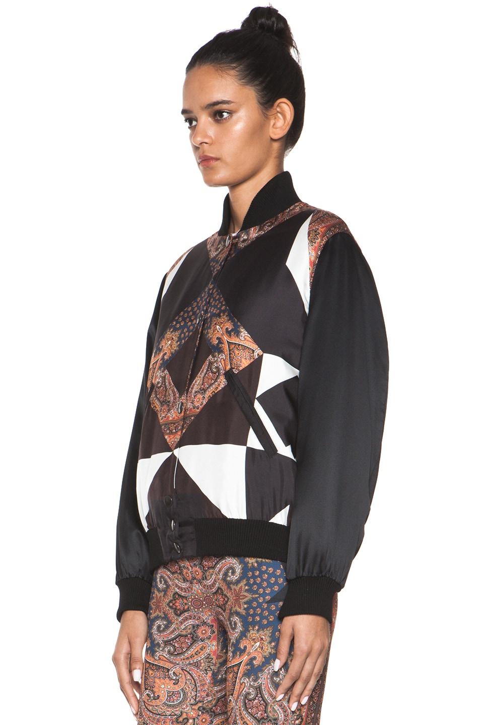 Image 3 of GIVENCHY Bomber Jacket in Multi
