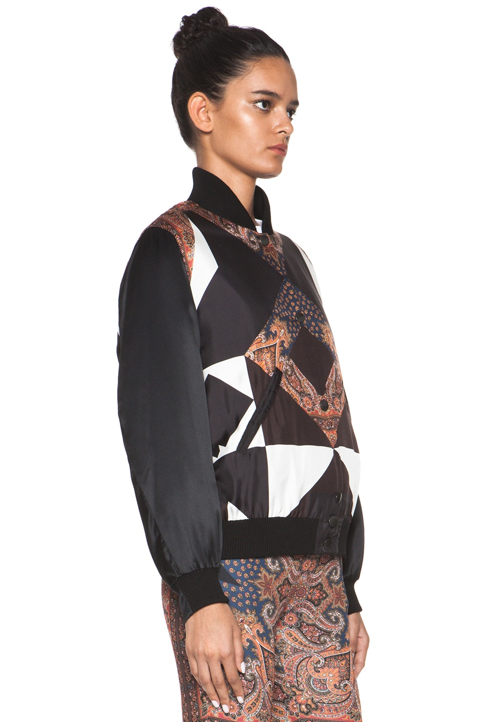 Image 4 of GIVENCHY Bomber Jacket in Multi