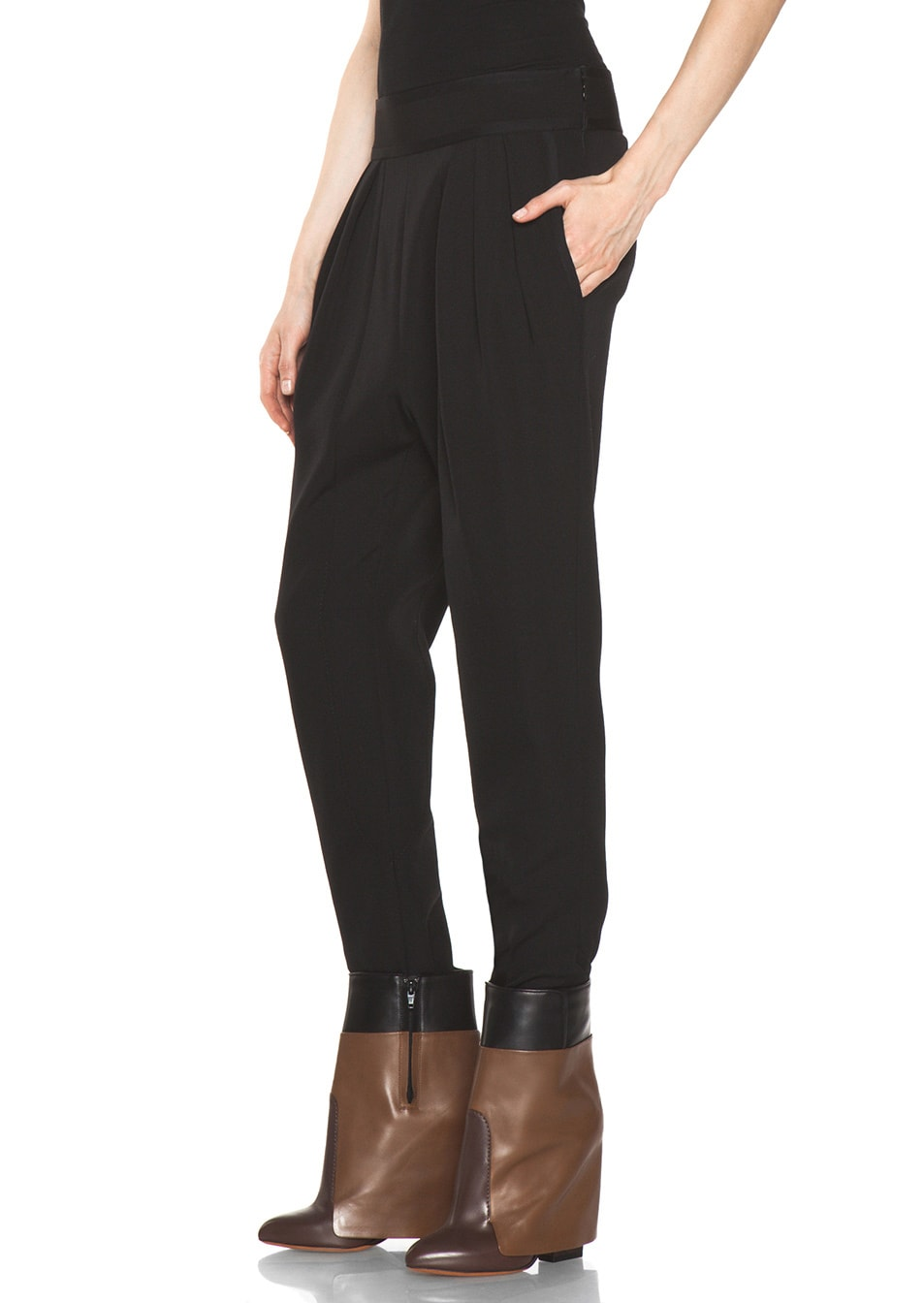 Image 2 of GIVENCHY Sarouel Pant in Black