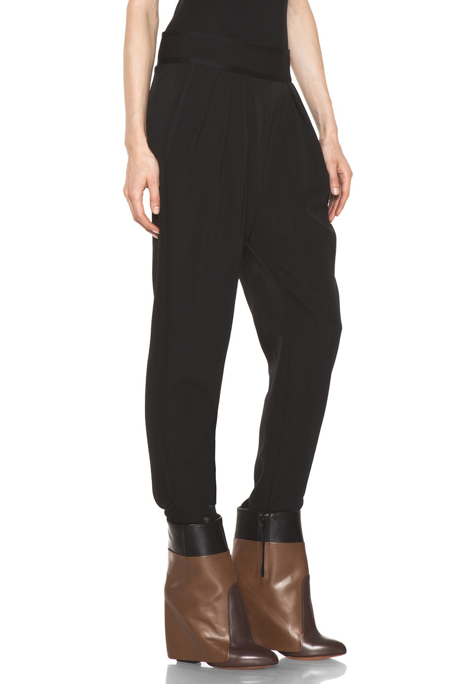 Image 3 of GIVENCHY Sarouel Pant in Black