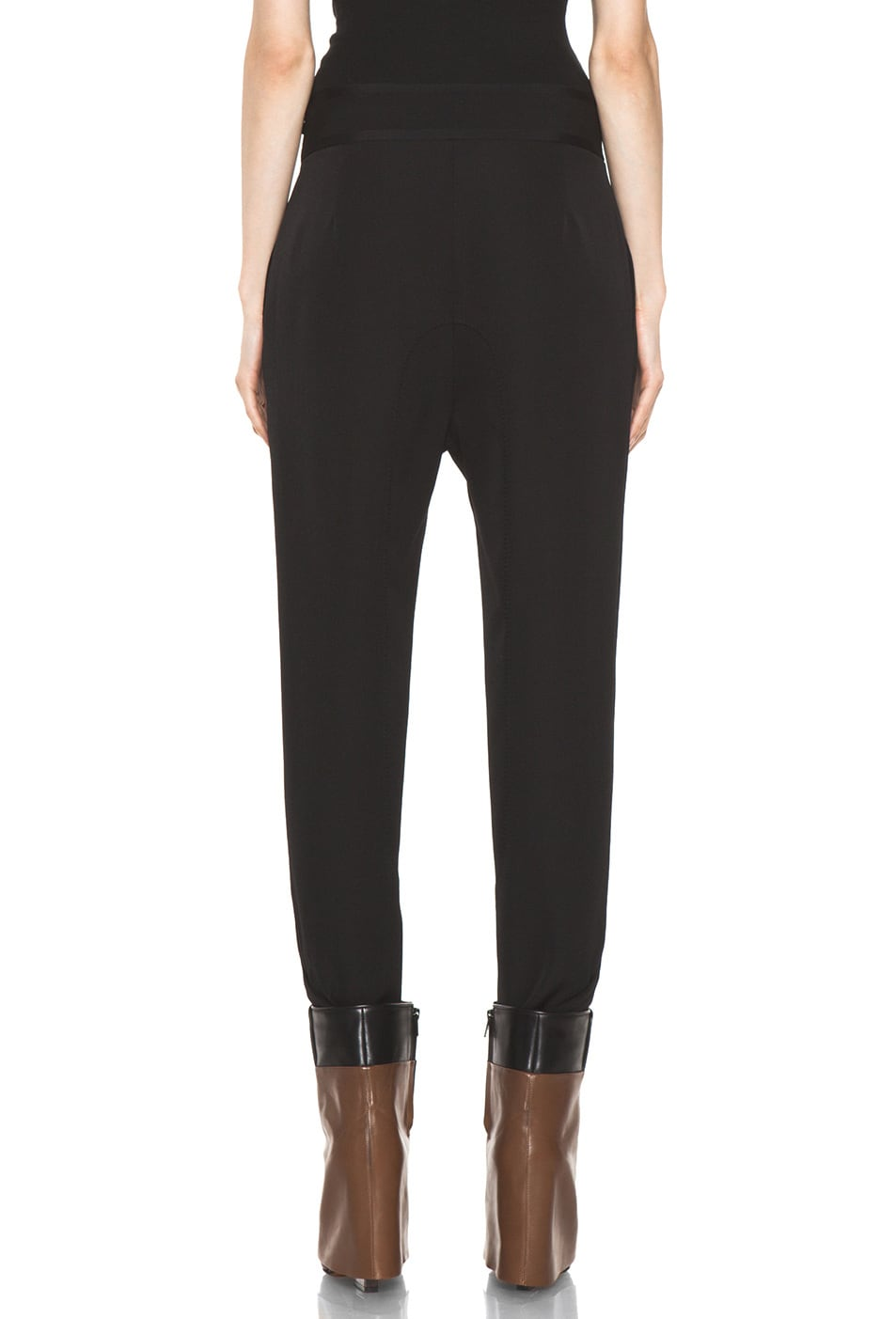 Image 4 of GIVENCHY Sarouel Pant in Black
