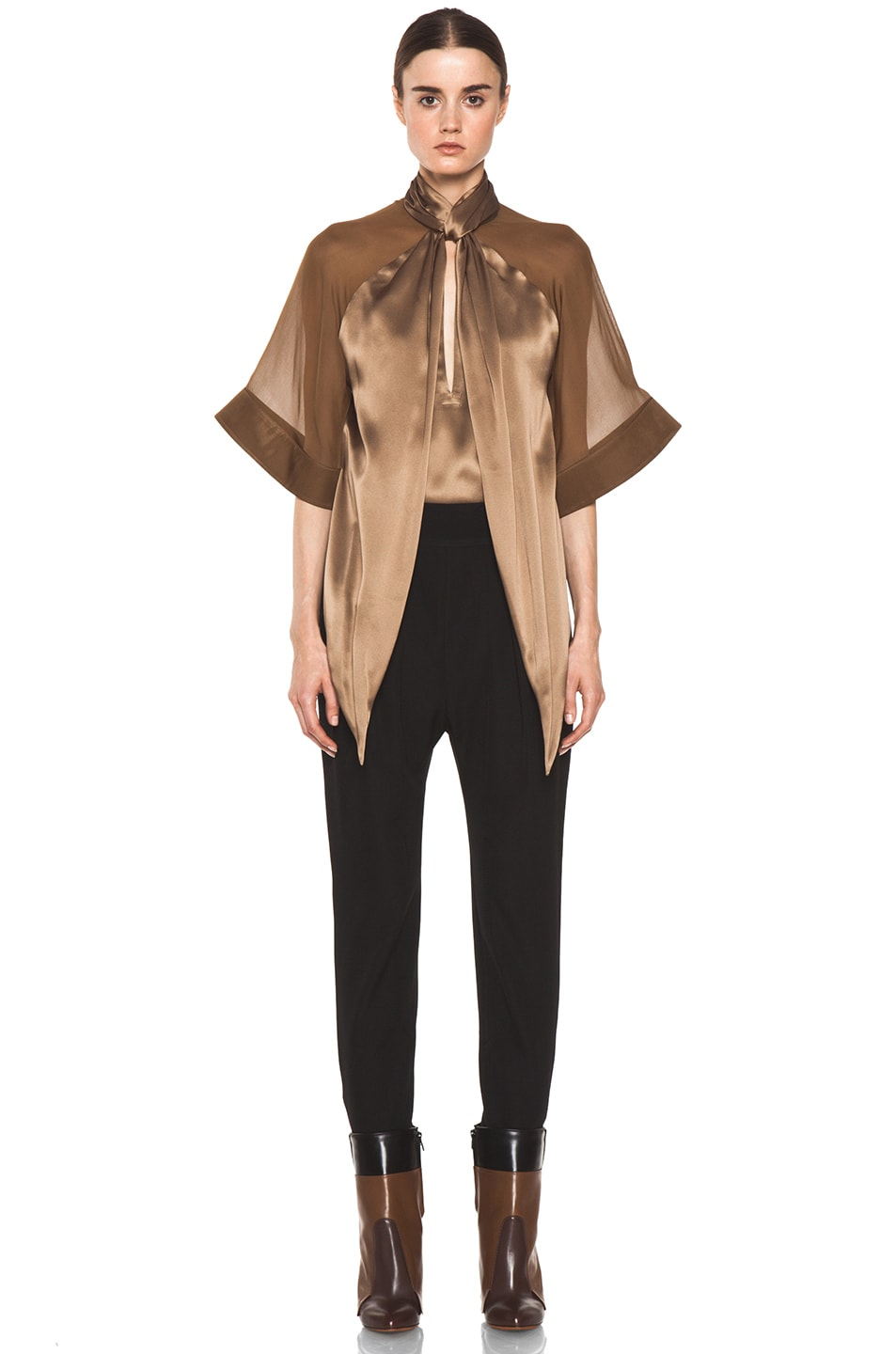 Image 5 of GIVENCHY Sarouel Pant in Black