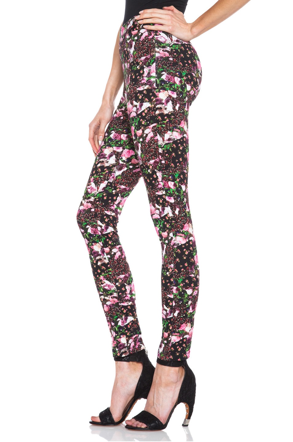 Image 2 of GIVENCHY Baby Jersey Legging in Floral