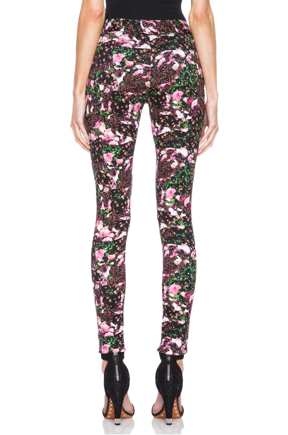 Image 4 of GIVENCHY Baby Jersey Legging in Floral