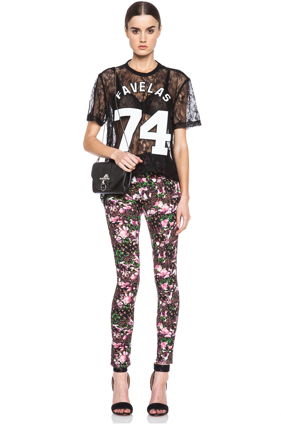 Image 5 of GIVENCHY Baby Jersey Legging in Floral