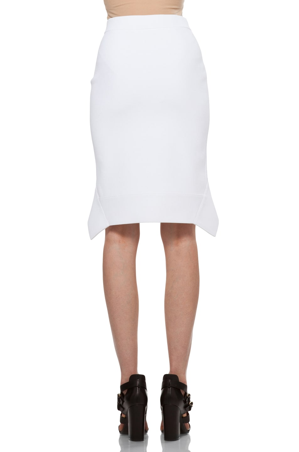 Image 4 of GIVENCHY Mini Skirt in White