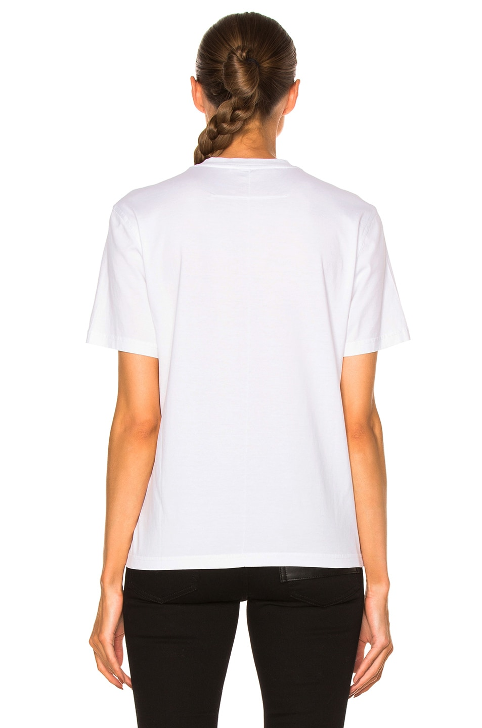 Givenchy columbian fit star print t shirt in black white for Givenchy star t shirt
