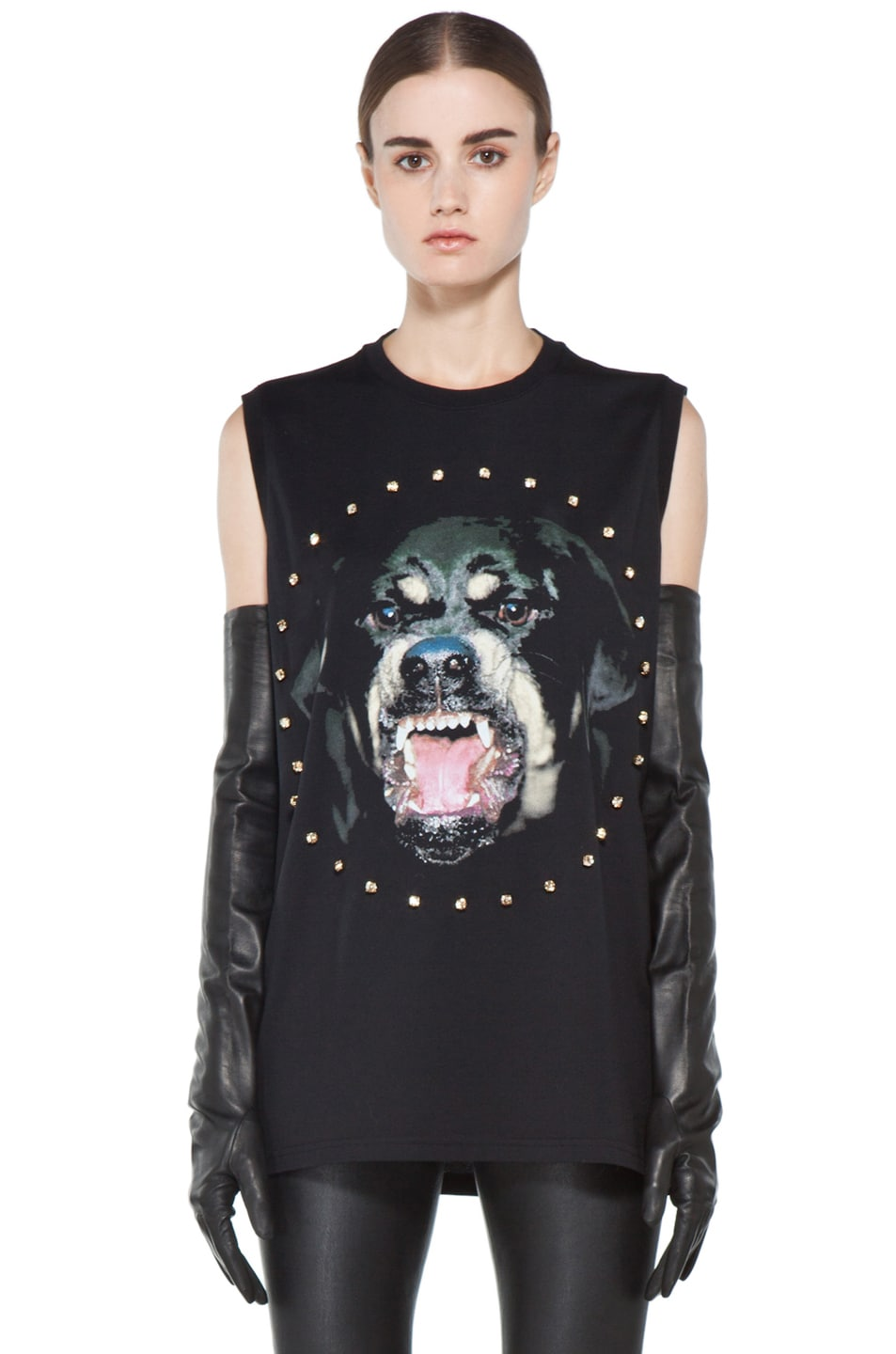 Image 1 of GIVENCHY Rottweiler Tee in Black