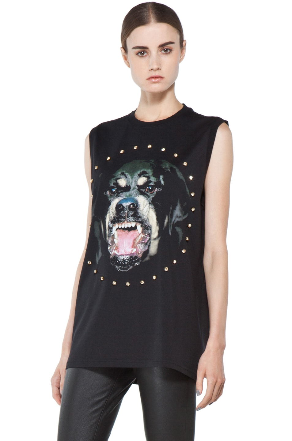 Image 3 of GIVENCHY Rottweiler Tee in Black