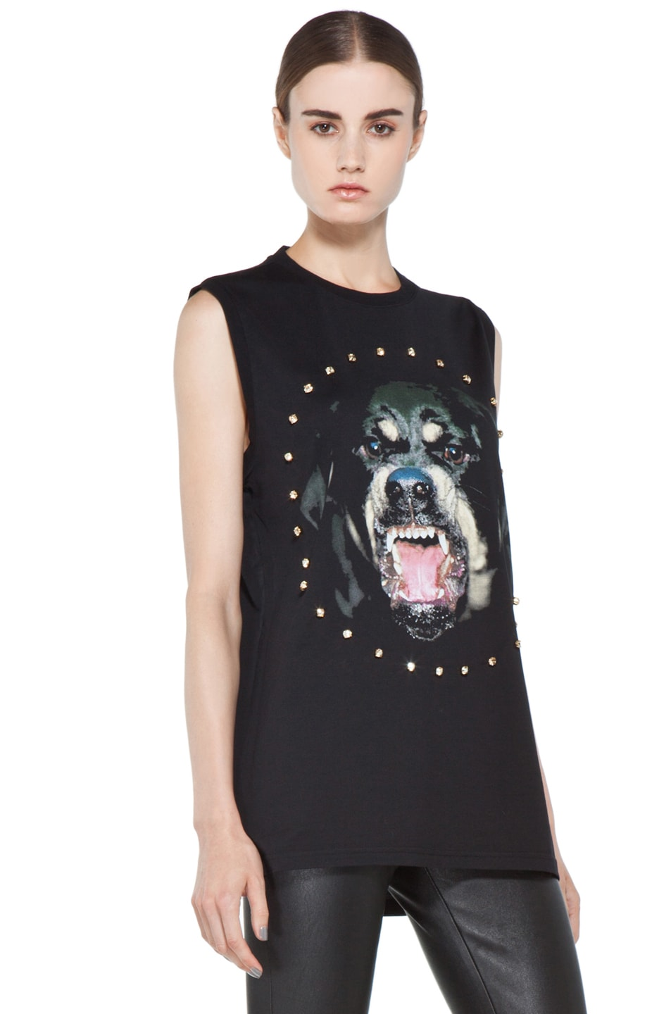 Image 4 of GIVENCHY Rottweiler Tee in Black