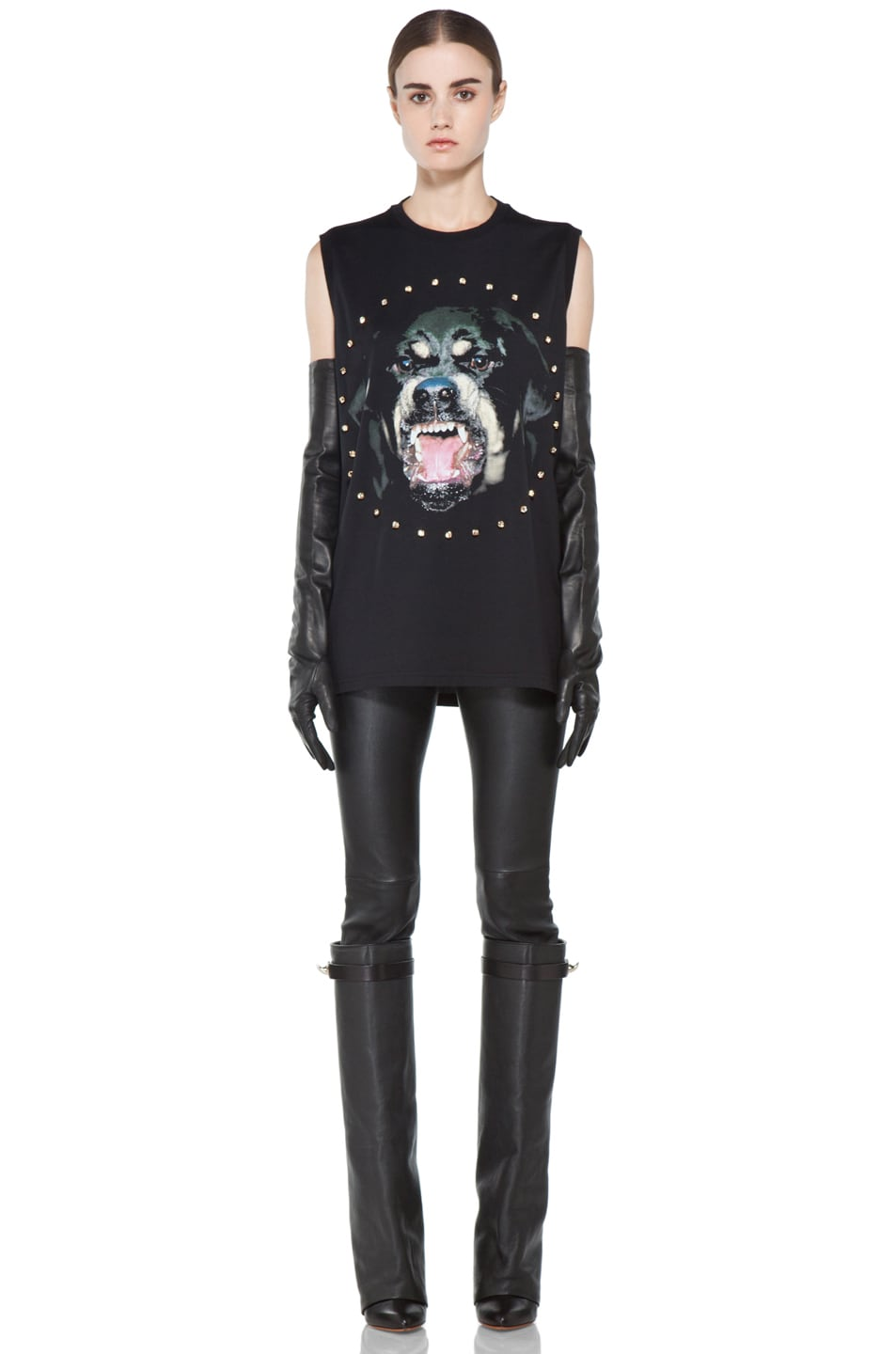 Image 6 of GIVENCHY Rottweiler Tee in Black