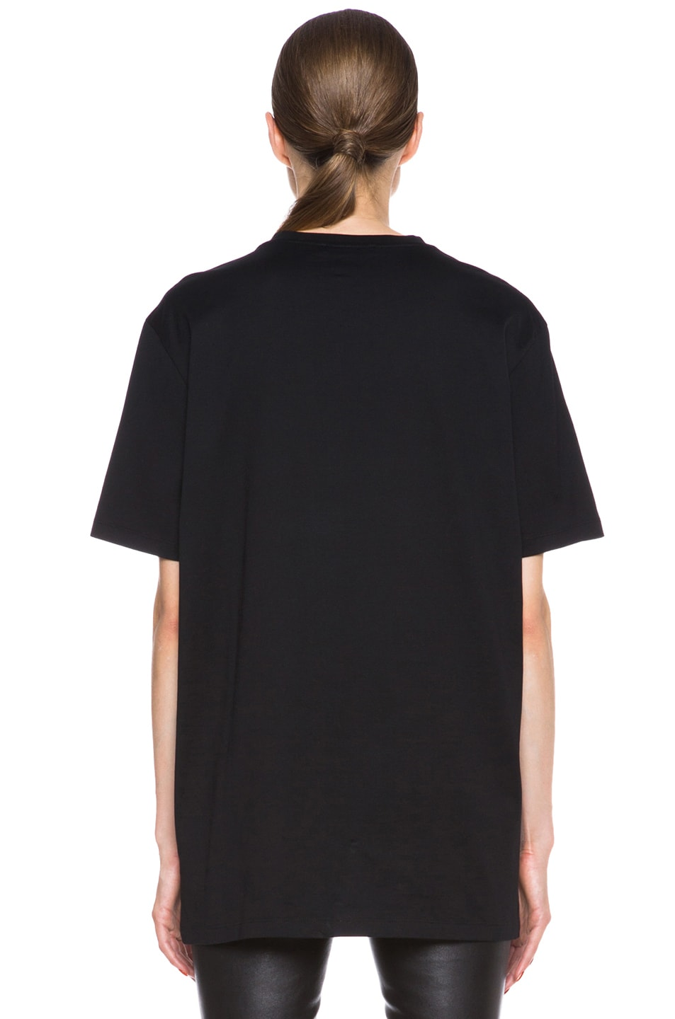 Image 4 of GIVENCHY Orgy vs. Flame Cotton Tee in Black