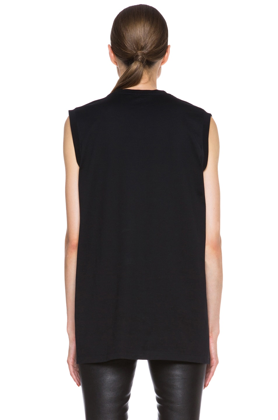 Image 4 of GIVENCHY Bambi Print Cotton Tee in Black