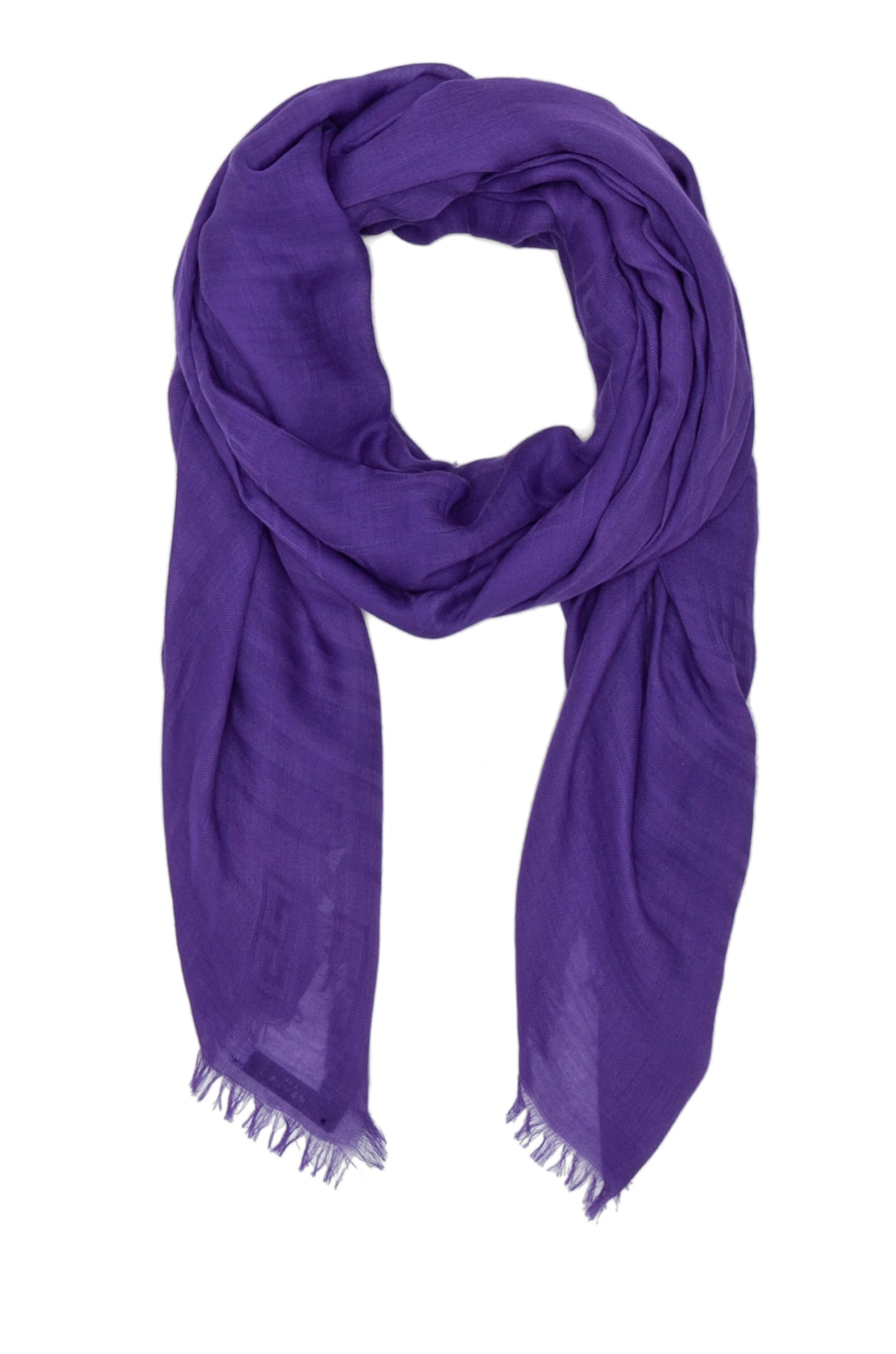 Image 1 of GIVENCHY Chessboard Jacquard Scarf in Purple