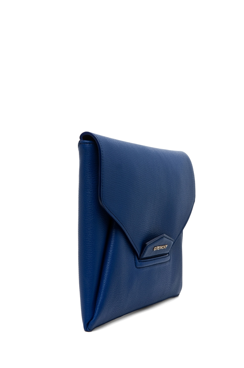 Image 3 of GIVENCHY Antigona Envelope Clutch in Moroccan Blue