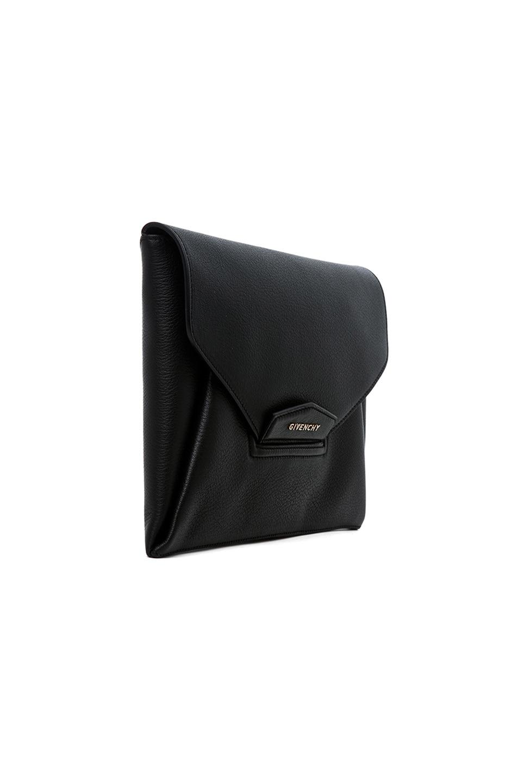 Image 4 of GIVENCHY Medium Antigona Envelope Clutch in Black