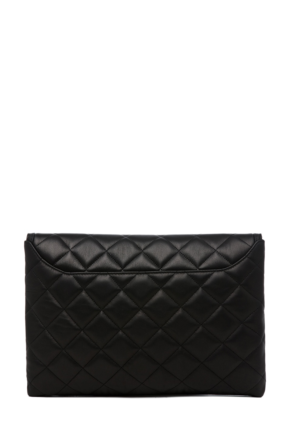 Image 2 of GIVENCHY Padded Antigonia Clutch in Black