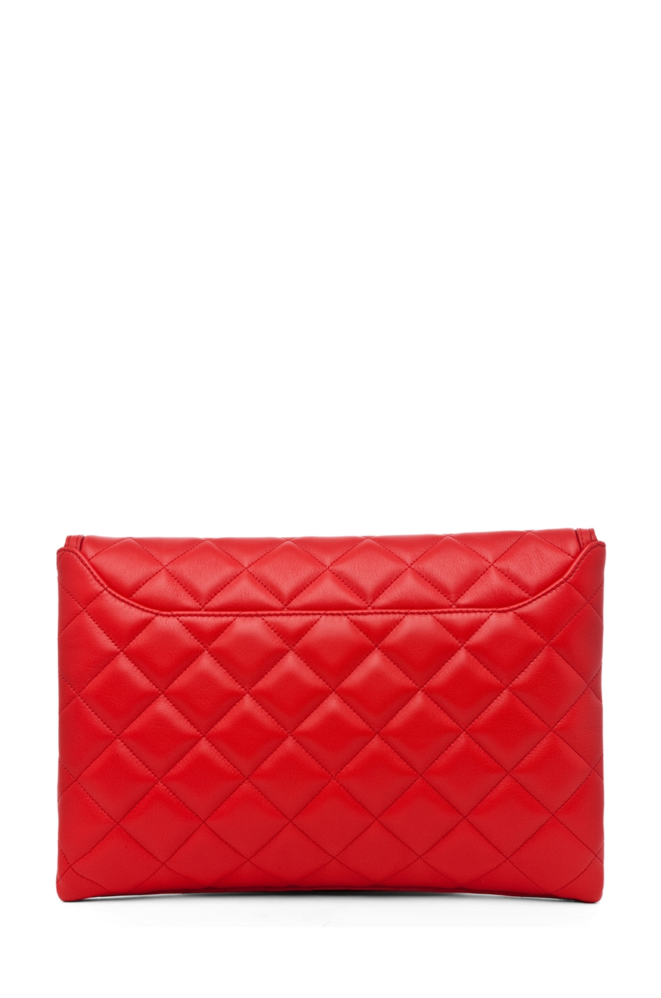 Image 2 of GIVENCHY Padded Antigonia Clutch in Red