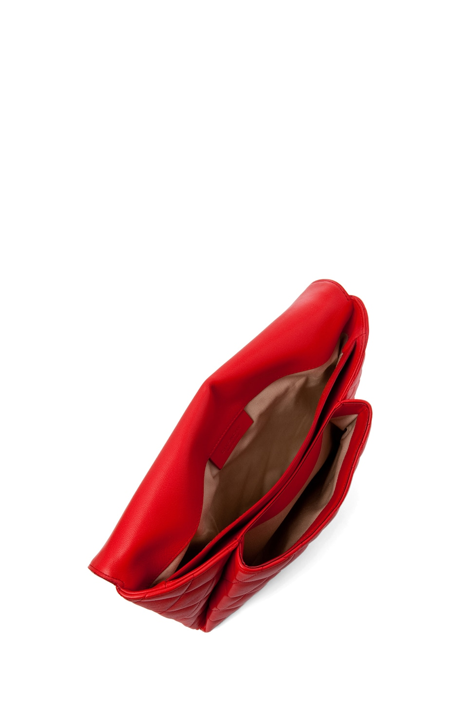 Image 3 of GIVENCHY Padded Antigonia Clutch in Red