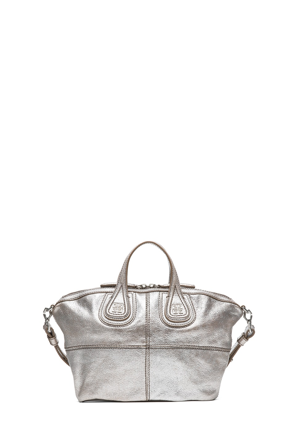 Image 2 of GIVENCHY Micro Metallic Nightingale in Silver