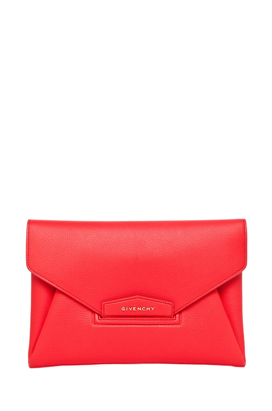 Image 1 of GIVENCHY Medium Antigona Clutch in Red