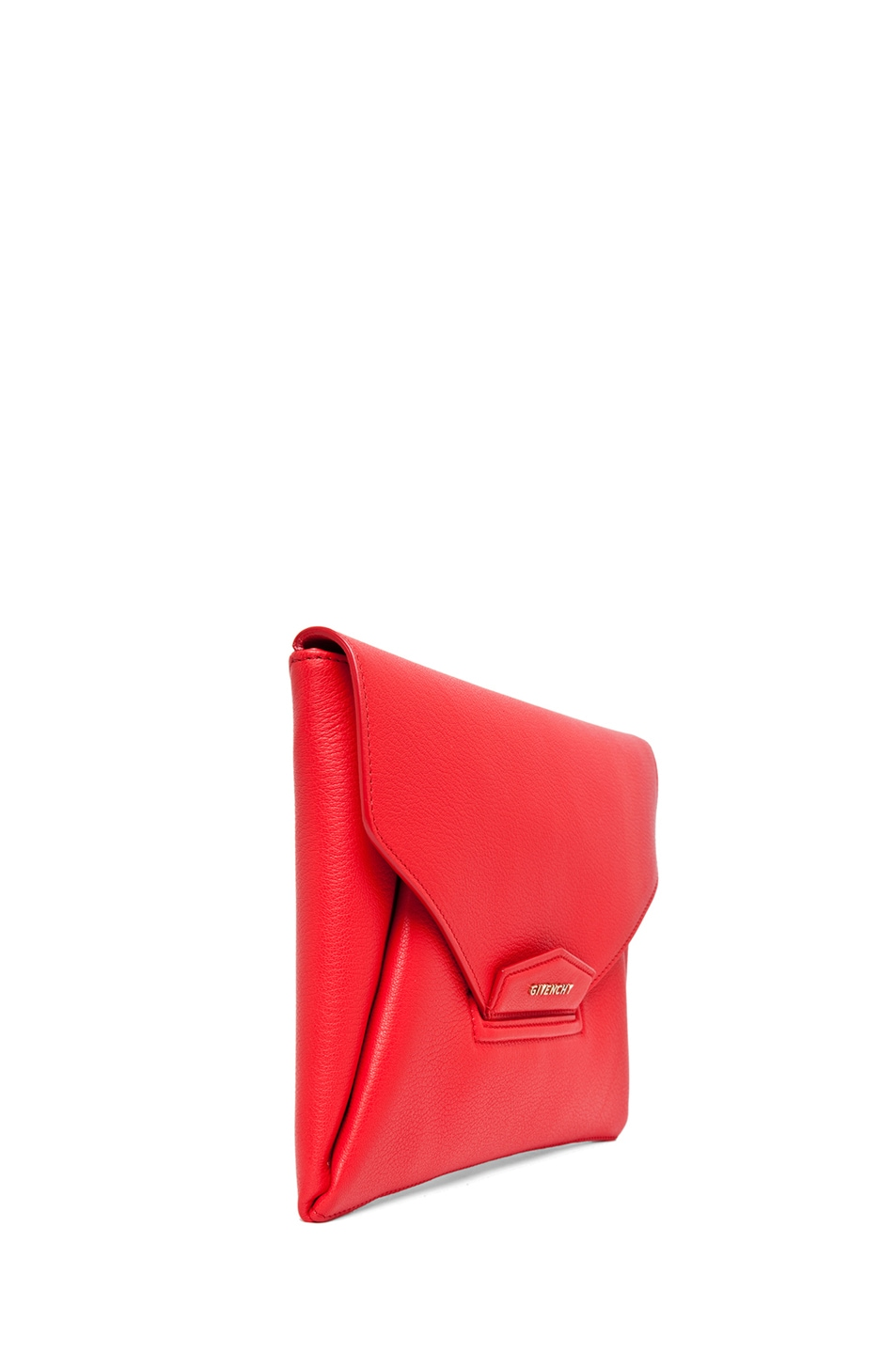 Image 3 of GIVENCHY Medium Antigona Clutch in Red