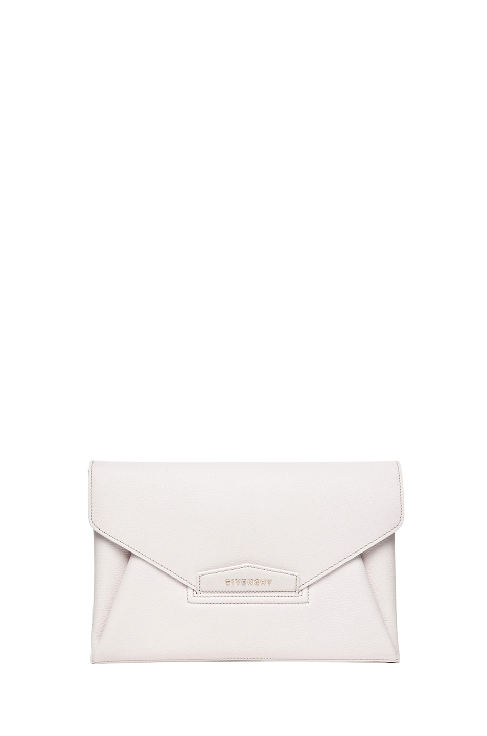 Image 1 of GIVENCHY Medium Antigona Envelope Clutch in Ivory