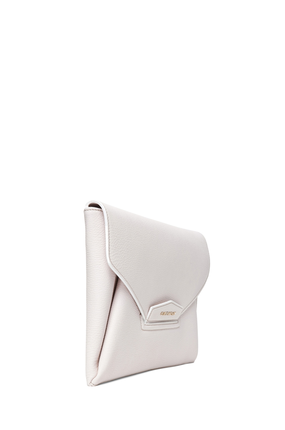 Image 3 of GIVENCHY Medium Antigona Envelope Clutch in Ivory