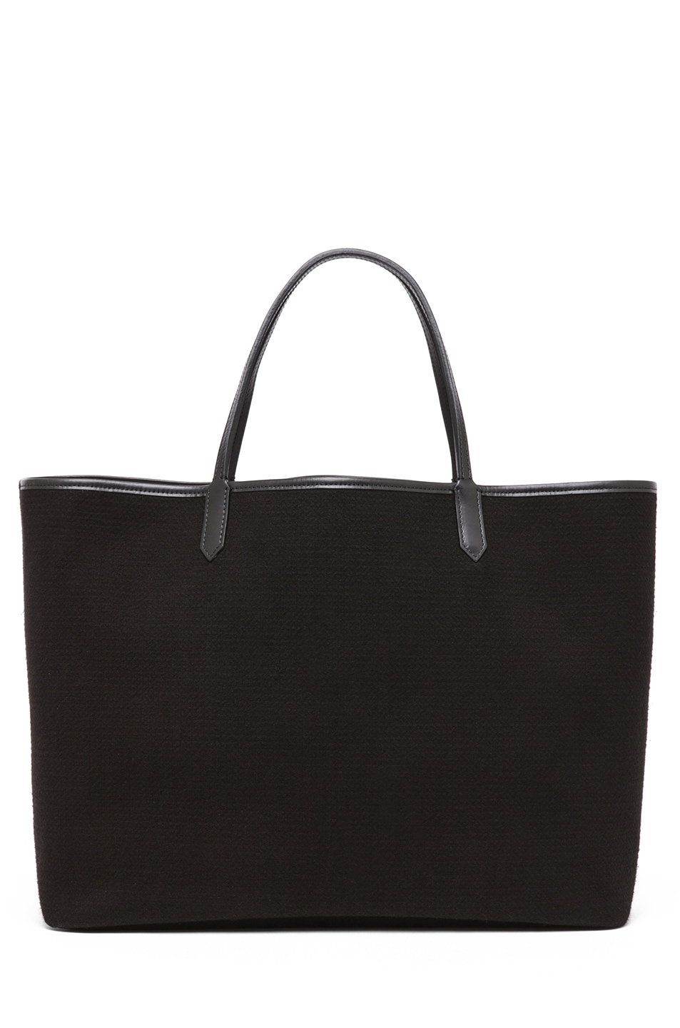 Image 2 of GIVENCHY Antigona Canvas Logo Shopper in Black