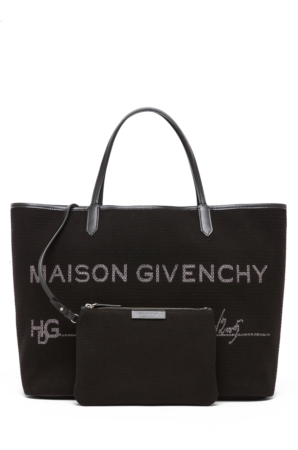 Image 5 of GIVENCHY Antigona Canvas Logo Shopper in Black