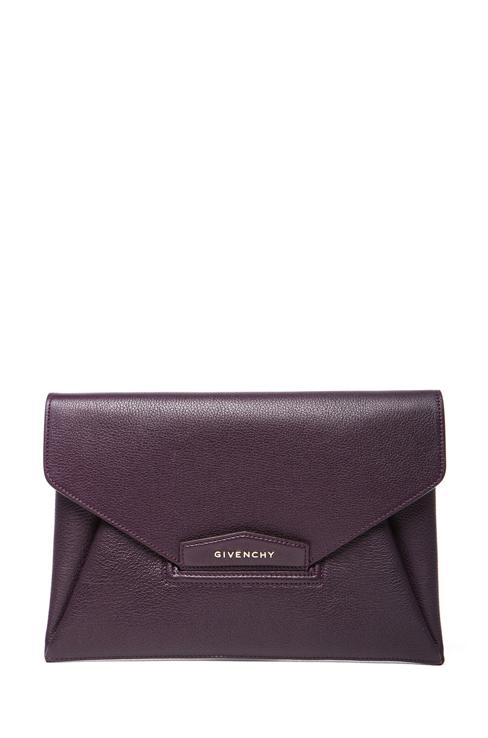 Image 1 of GIVENCHY Medium Antigona Clutch in Aubergine