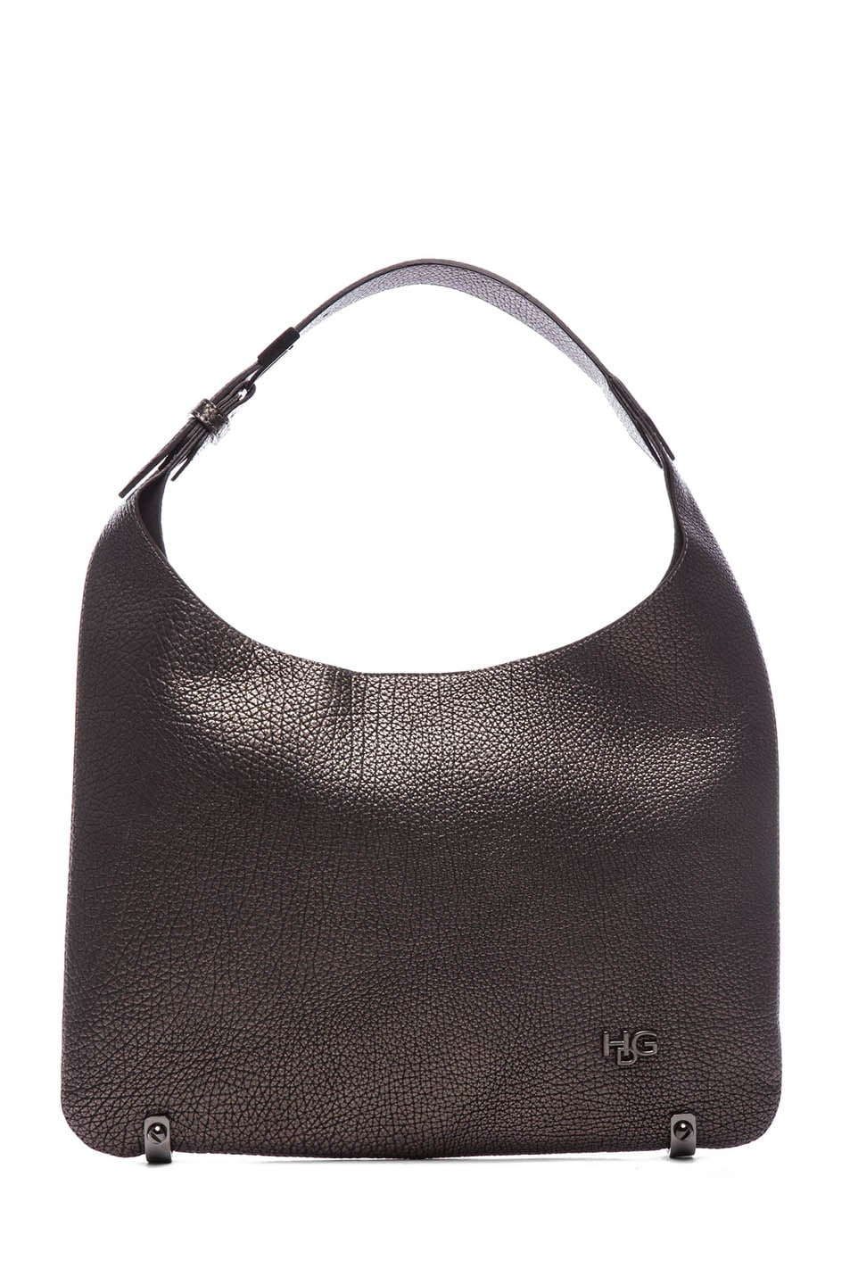 Image 1 of GIVENCHY HDG Hobo in Gunmetal