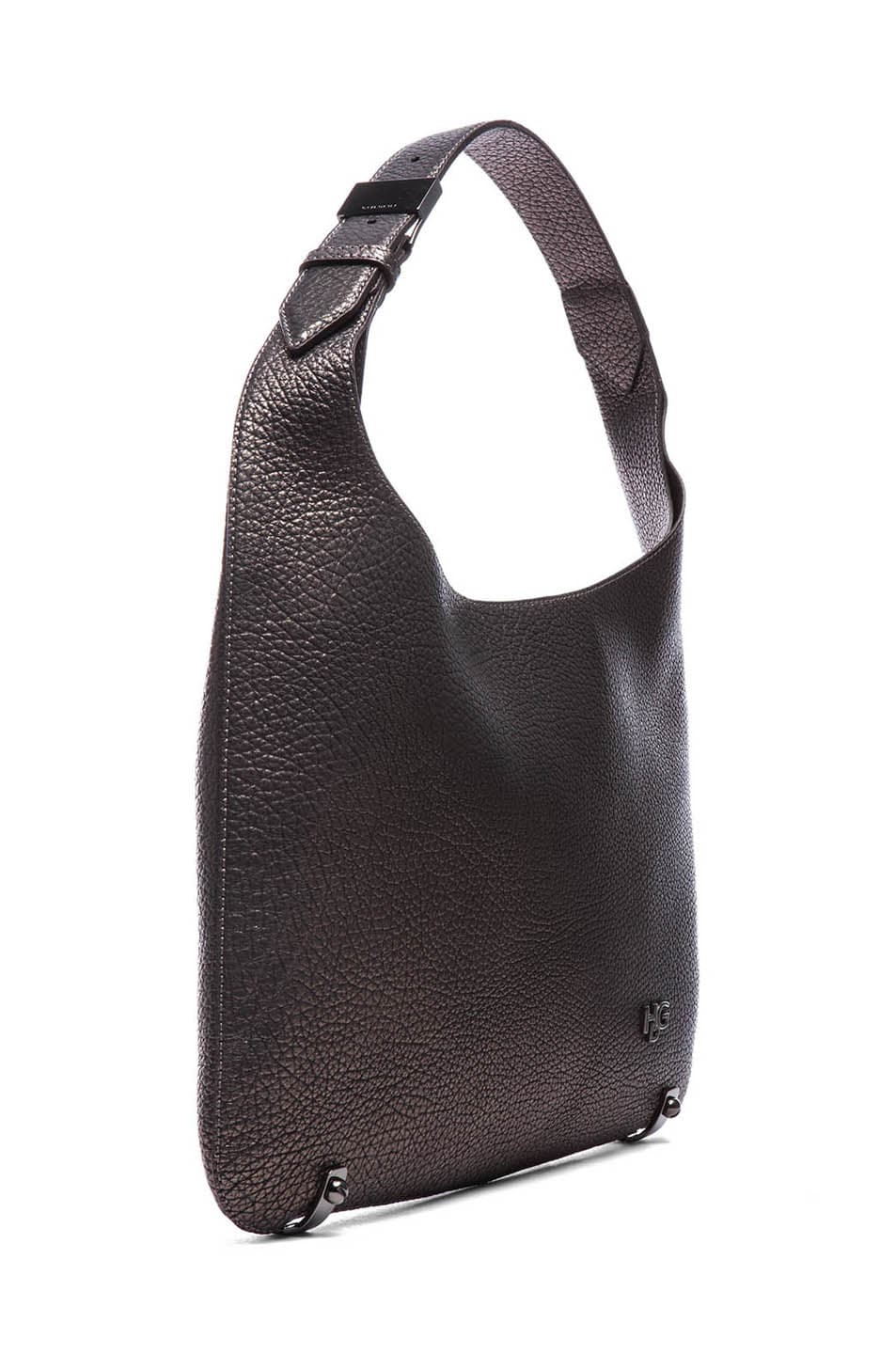 Image 3 of GIVENCHY HDG Hobo in Gunmetal