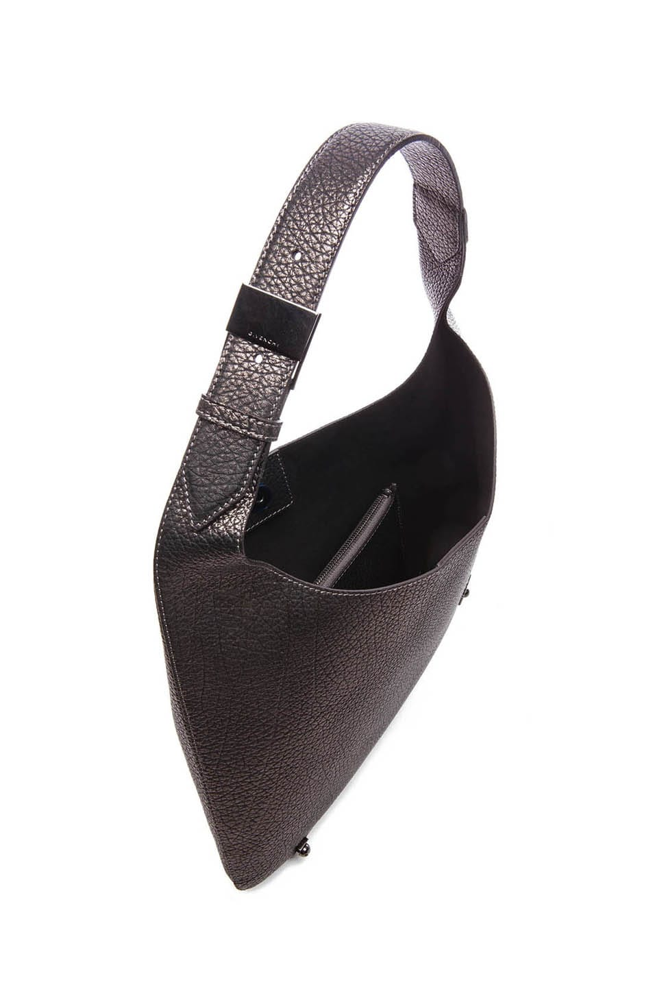 Image 4 of GIVENCHY HDG Hobo in Gunmetal
