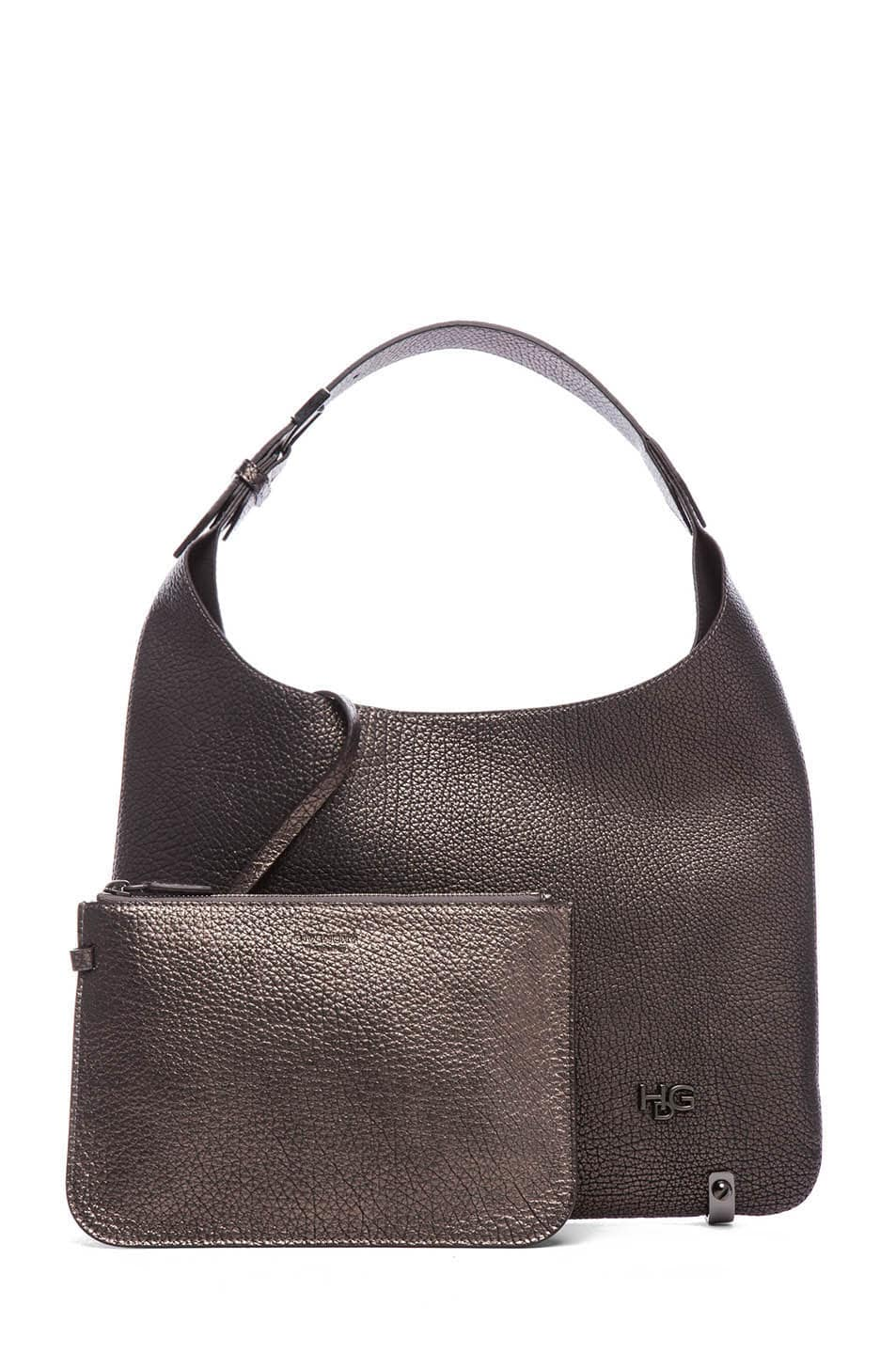 Image 5 of GIVENCHY HDG Hobo in Gunmetal