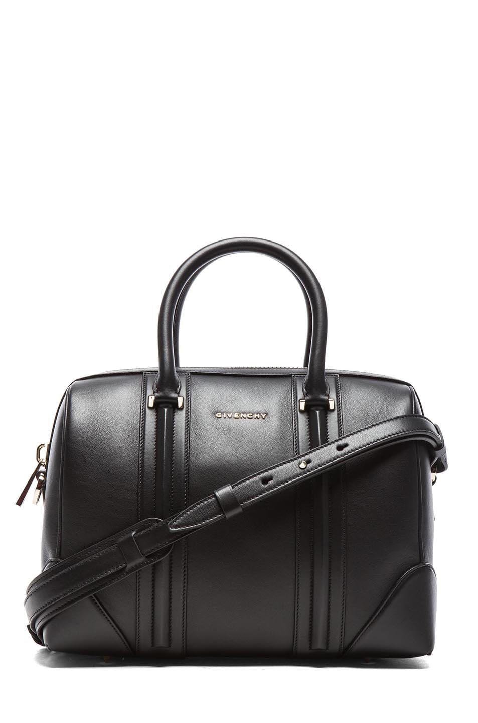 Image 1 of GIVENCHY Medium Lambskin Lucrezia Bag in Black