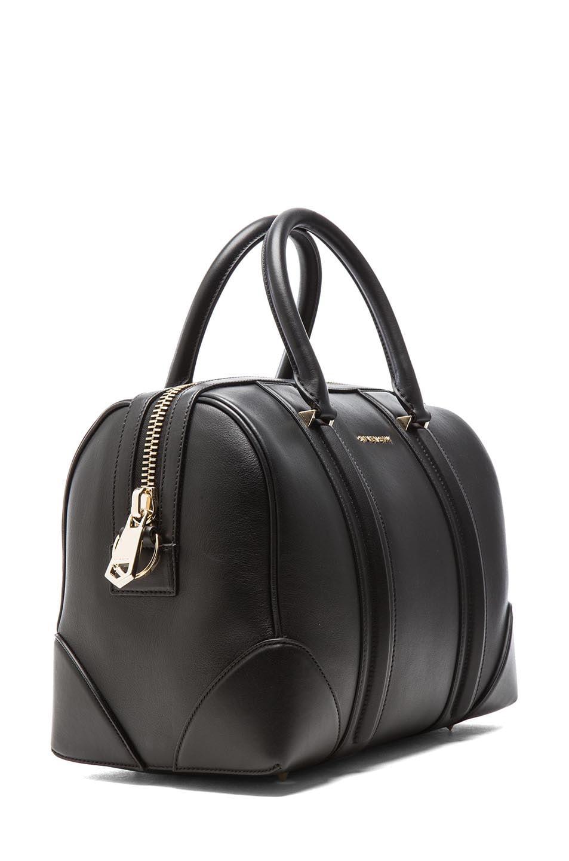 Image 3 of GIVENCHY Medium Lambskin Lucrezia Bag in Black