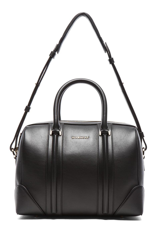 Image 5 of GIVENCHY Medium Lambskin Lucrezia Bag in Black