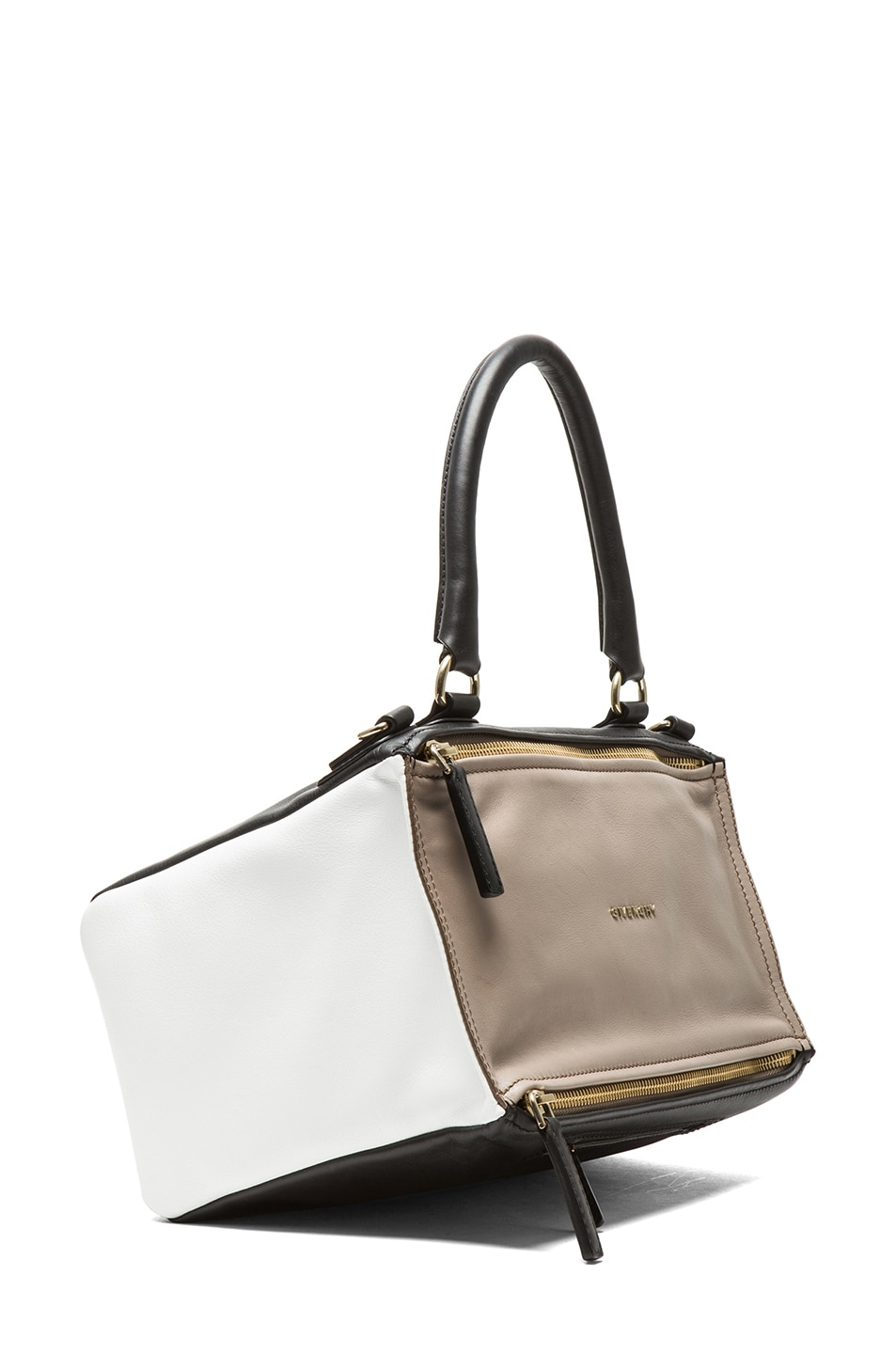 Image 3 of GIVENCHY Medium Tri Color Pandora in Taupe