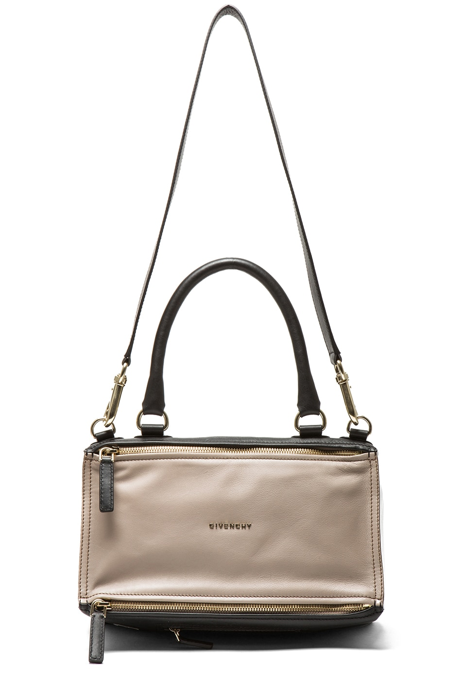 Image 5 of GIVENCHY Medium Tri Color Pandora in Taupe